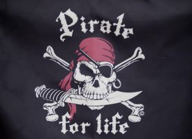 Pirate for Life by TheInfernalDemon