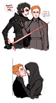 Ren and Hux by CrystallizedTwilight