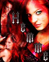 Christy Hemme poster thing by wild-kard2003