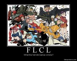 FLCL Demotivational by Onikage108