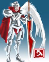 Angelic Paladin by charrendark