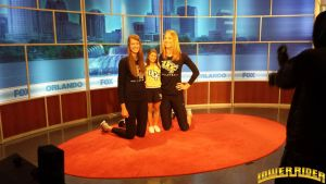 Volleyball girls on fox 35 by lowerrider