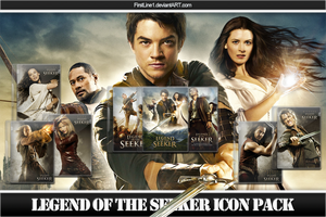 Legend of the Seeker Icon Pack by FirstLine1