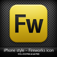 iPhone style - Fw CS4 icon by YaroManzarek