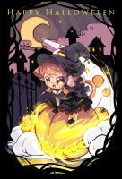Chibi Happy Halloween by kotorikurama