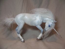 """Spook""  ooak unicorn by AmandaKathryn"