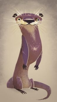 The Mighty River Otter by Zakeno