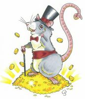 Rat Mogul by CraftyTibbles