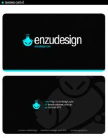business card v2 by EnzuDes1gn