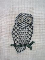 Blackwork Owl by Magical525