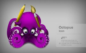 Octopus icon by AndexDesign