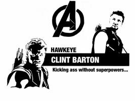 Avengers - Clint Barton by Mr-Saxon