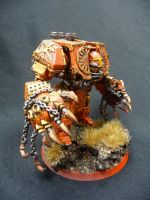 Khorne Dreadnought by Solav