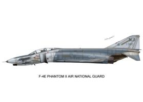 F-4 Air National Guard Print03 by peter-pan03