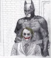 Tribute to The Dark Knight by spoiler91