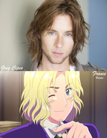 Greg Cipes and France by ItsKoko