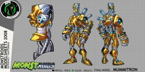 Monstroids Modelsheet 05 by RobDuenas