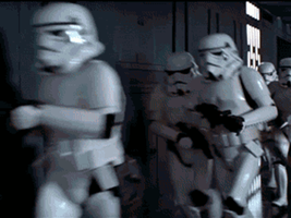 Run stormtroopers, run! by kinginbros2011
