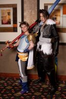 Bartz and Squall by Hopie-chan