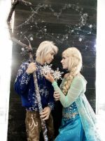 Jack Frost x Elsa: Suddenly I Bump Into You by DuysPhotoShoots