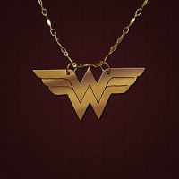 Wonder Woman Pendant by JeremyMallin
