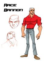 Race Bannon by sketchmasterskillz