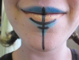 Nephthys - Egyptian Goddess make up (2) by dis-aint-no-pipe