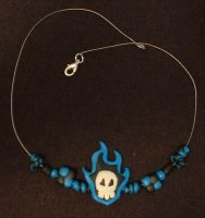 Rukia soul reaper necklace by silverbeam