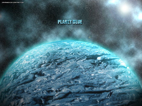 Planet Blue by dayanboy