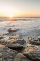 La Jolla Sunset Stock by little-spacey
