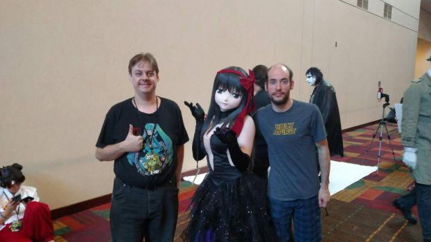 Me with Falz and Darkmatter by Sephy90