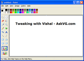 Vista MS Paint Mod for XP by Vishal-Gupta