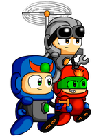 Android team colored by Cyberguy64