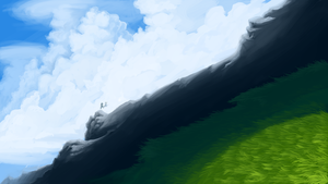 Mountain Speed Paint. by AmandaRaquel