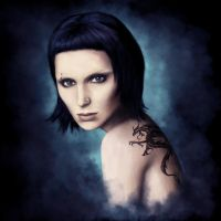 The Girl with the Dragon Tattoo by Aestra