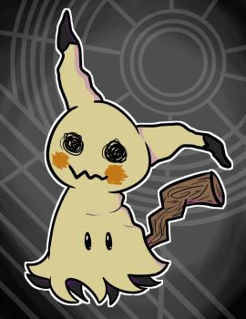 Mimikyu by TinyTimelord