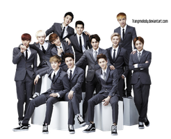 EXO Render by TrangMelody