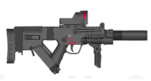 Julie's CESD-40 SMG by ThantosEdge
