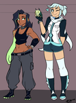 Halona and Keedra Height Ref by Ric-M