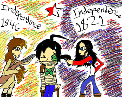 Mexican Independence by NottheVoreFreak