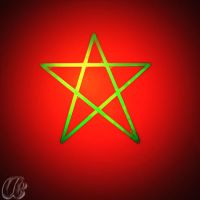 Morocco flag HD by Aminebjd