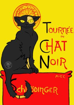 Schrodinger Chat noir by uximata