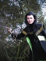 Loki - Lurking in the woods by lilotea-chan