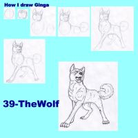How I draw Ginga by 39-TheWolf