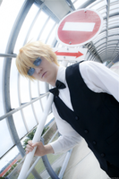 I hate violence - Shizuo Heiwajima by AndrewsSchmidt
