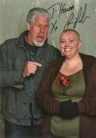 Me with Ron Perlman by gurihere