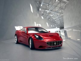 ferrari califonia front by teamgandaia3