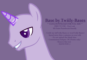 MLP Base 308 by Twiily-Bases