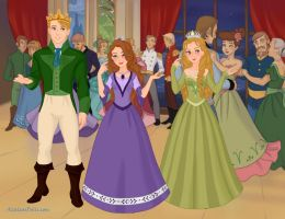 Sofia The First - Sofia and siblings by marciapimenta