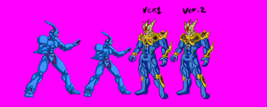 New Sprite Size and Armored Guyot sprite by Odin787